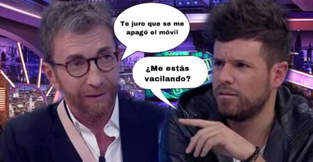 Este es el feo que Pablo Motos le hizo a Pablo López, y por el que ha tenido que pedir perdón en 'El Hormiguero'