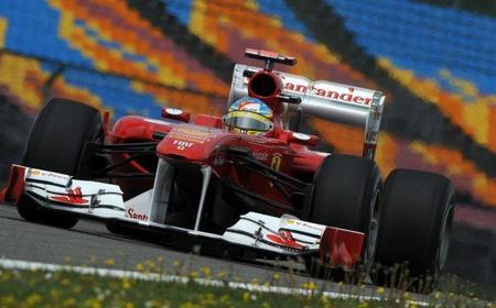 Fernando Alonso no se atreve a evaluar las mejoras del Ferrari 150º Italia