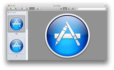 Muestra todos los elementos gráficos de una aplicación con Vista Previa