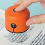 Con este dispositivo podremos identificar tipos de letra y códigos de color en el mundo real
