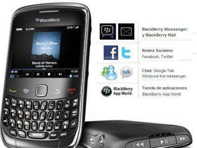 Vodafone también lanza la Blackberry Curve 3G 9300 en prepago