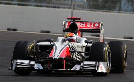 GP de India F1 2011: HRT, a la altura de las circunstancias