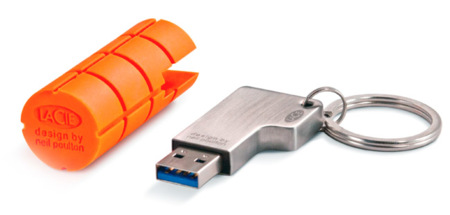 El USB 3.0 se hace fuerte en la LaCie RuggedKey