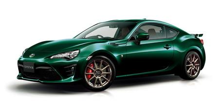 """""""British Green Limited"""": la última edición especial del Toyota GT 86, probablemente exclusiva para Japón"""