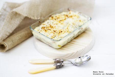Hachis parmentier o pastel de carne y patata, receta clásica francesa