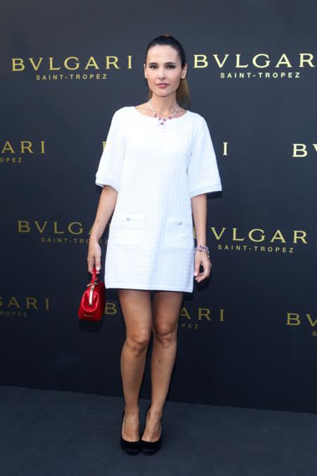 Virginie Ledoyen Bulgari joyas Diva