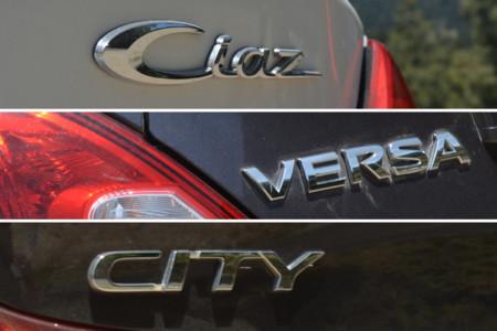 Comparativa Honda City Suzuki Ciaz Nissan Versa Apertura 4