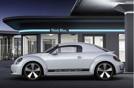 Volkswagen E-Bugster capotado