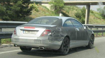 Fotos espía del Mercedes CL 2006 en Barcelona