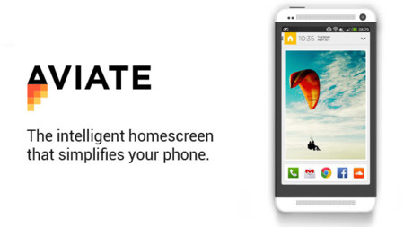 Aviate Beta, una pantalla de inicio inteligente para tu Android