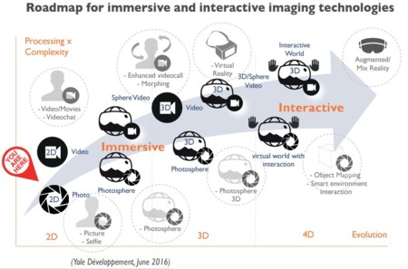 Immersive Imaging Roadmap