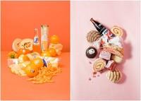 Modernos bodegones que recogen las dietas de moda por Stephanie Gonot