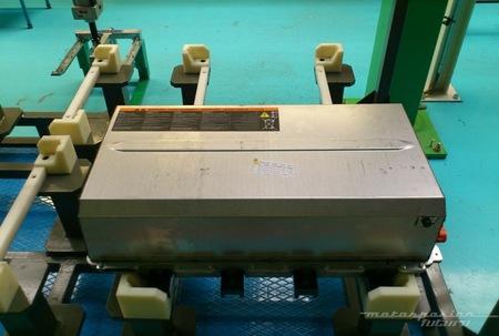 Fábrica Renault Twizy Valladolid paquete de baterías