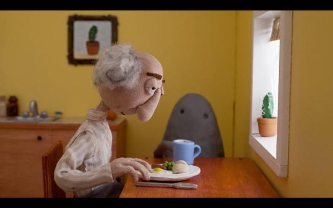 'Blobby', el precioso corto que nos presenta una de las caras de la vejez y la soledad