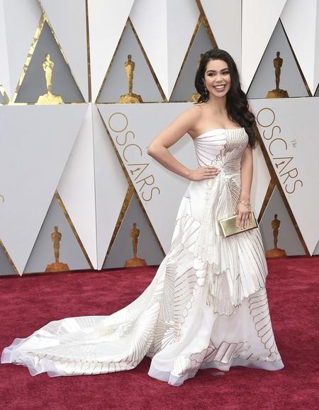 Auli I Cravalho Rubin Singer Oscars2017