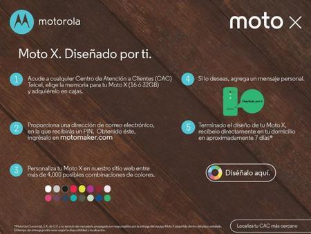 Propaganda Moto Maker con Telcel