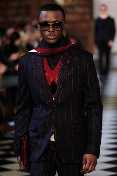 Tommy Hilfiger rayas y rombos AW 2013