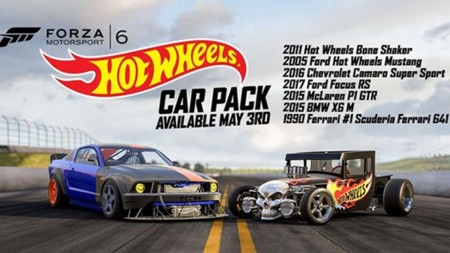 Forza Motorsport 6 recibe un DLC de Hot Wheels