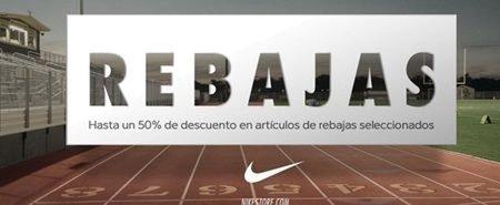 Rebajas del 50% de descuento en Nike