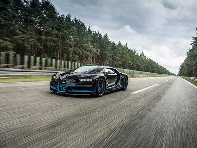 Bugatti vuelve a hacer historia: el Chiron marca 41,96 segundos en el 0-400-0 km/h