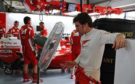 Ferrari, menos mal que tienes a Fernando Alonso