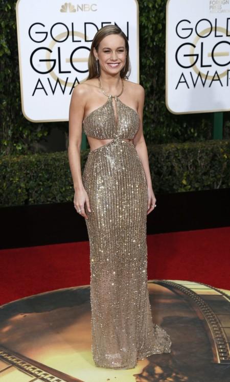 Brie Larson De Calvin Klein Collection