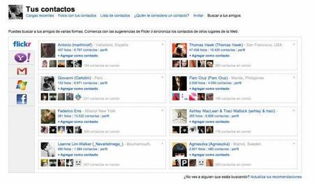 flickr se hace más social que nunca y permite el acceso con cuentas de Google