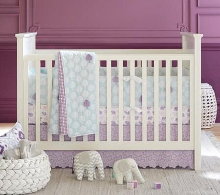 Lavanda, el nuevo rosa de los dormitorios infantiles