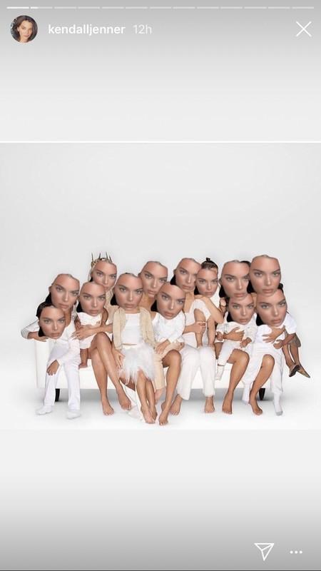 felicitacion navidad kardashian kendall
