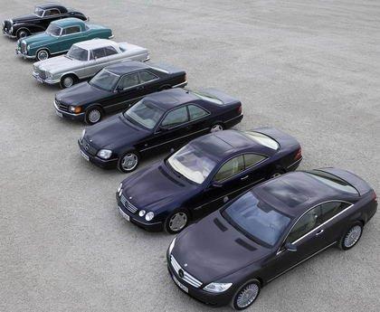Mercedes Coupe Clasicos