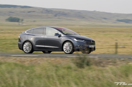 Tesla Model X Motores eléctricos