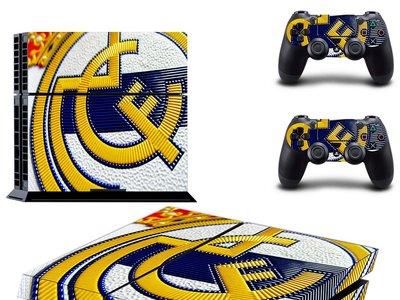 ¿Fan del Real Madrid? Vinilo para PS4 por 7,99 euros y envío gratis