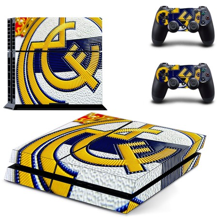 ¿Fan del Real Madrid? Vinilo para PS4 por 7,99 euros y envío gratis