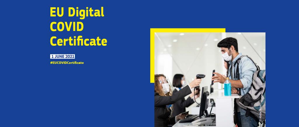 Cómo obtener el Certificado COVID Digital de la UE u credencial COVID en un teléfono Android