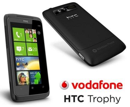 Todos los precios del HTC 7 Trophy de Vodafone