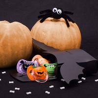 Chupetes de Suavinex terroríficamente divertidos para Halloween