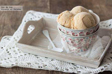 Receta de helado de dulce de leche