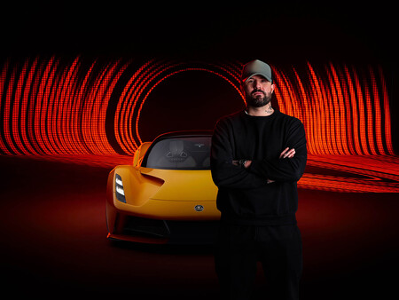 El superdeportivo eléctrico Lotus Evija 'rugirá' parecido al Lotus 49 de F1 gracias al productor musical Patrick Patrikios