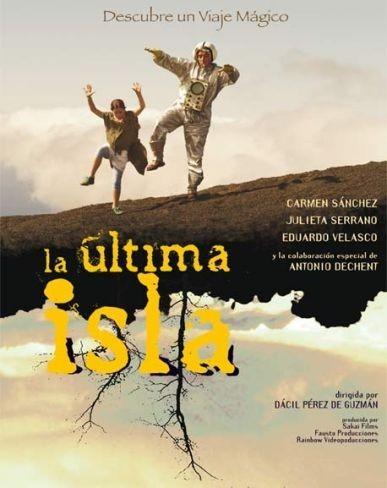 Cartel de La última isla