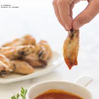 Cómo hacer alitas de pollo con salsa barbacoa. Receta