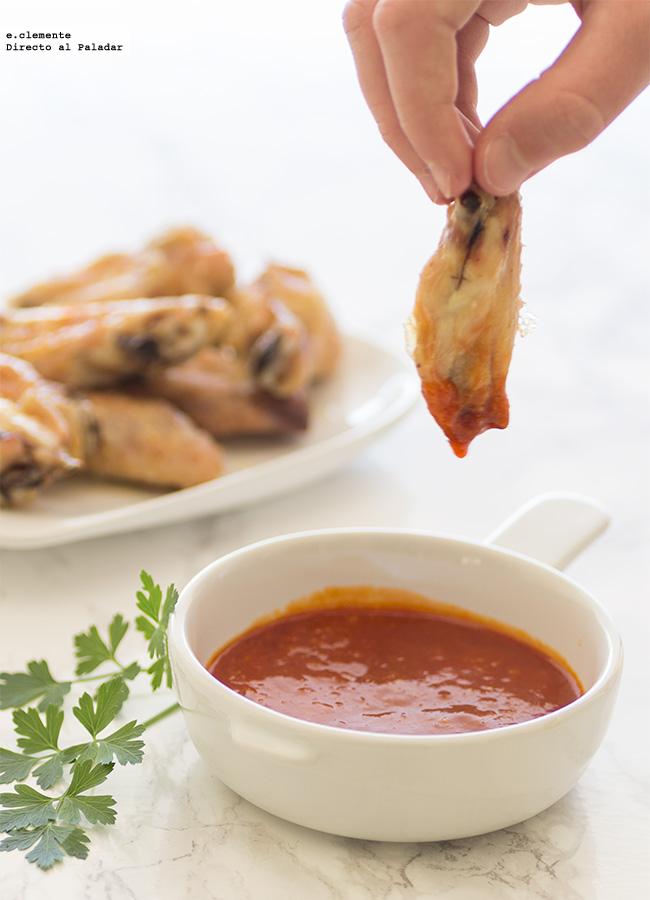 C mo hacer alitas de pollo con salsa barbacoa receta for Ingredientes para preparar barbacoa