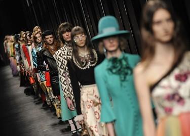 Gucci vuelve a ser el desfile estrella del momento
