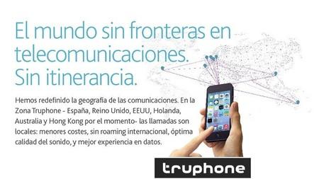 Truphone, llamadas internacionales con tarifas locales