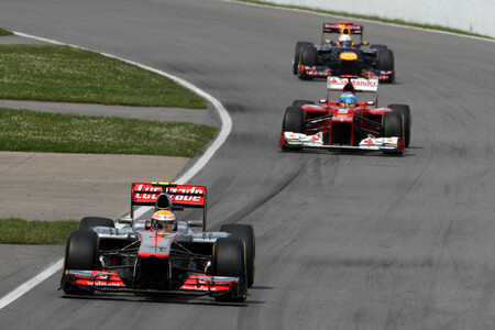 Hamilton Canada F1 2012