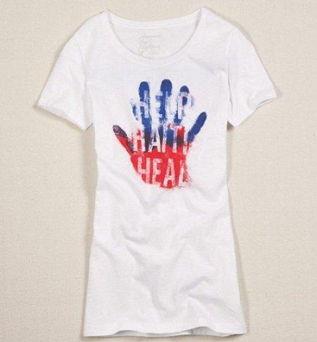Help Haiti Heal, camiseta solidaria