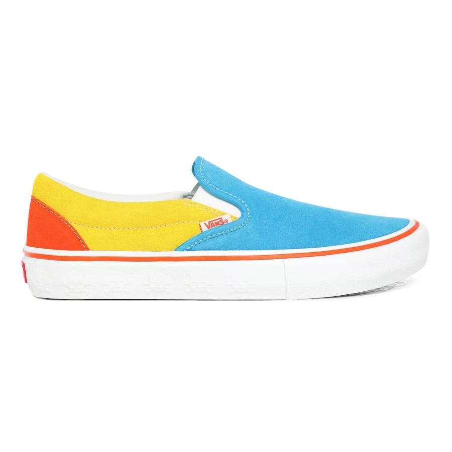 Slip-On Blue/Yellow