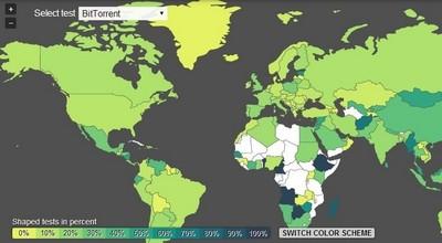 ¿Los ISPs de tu país limitan o bloquean el P2P?