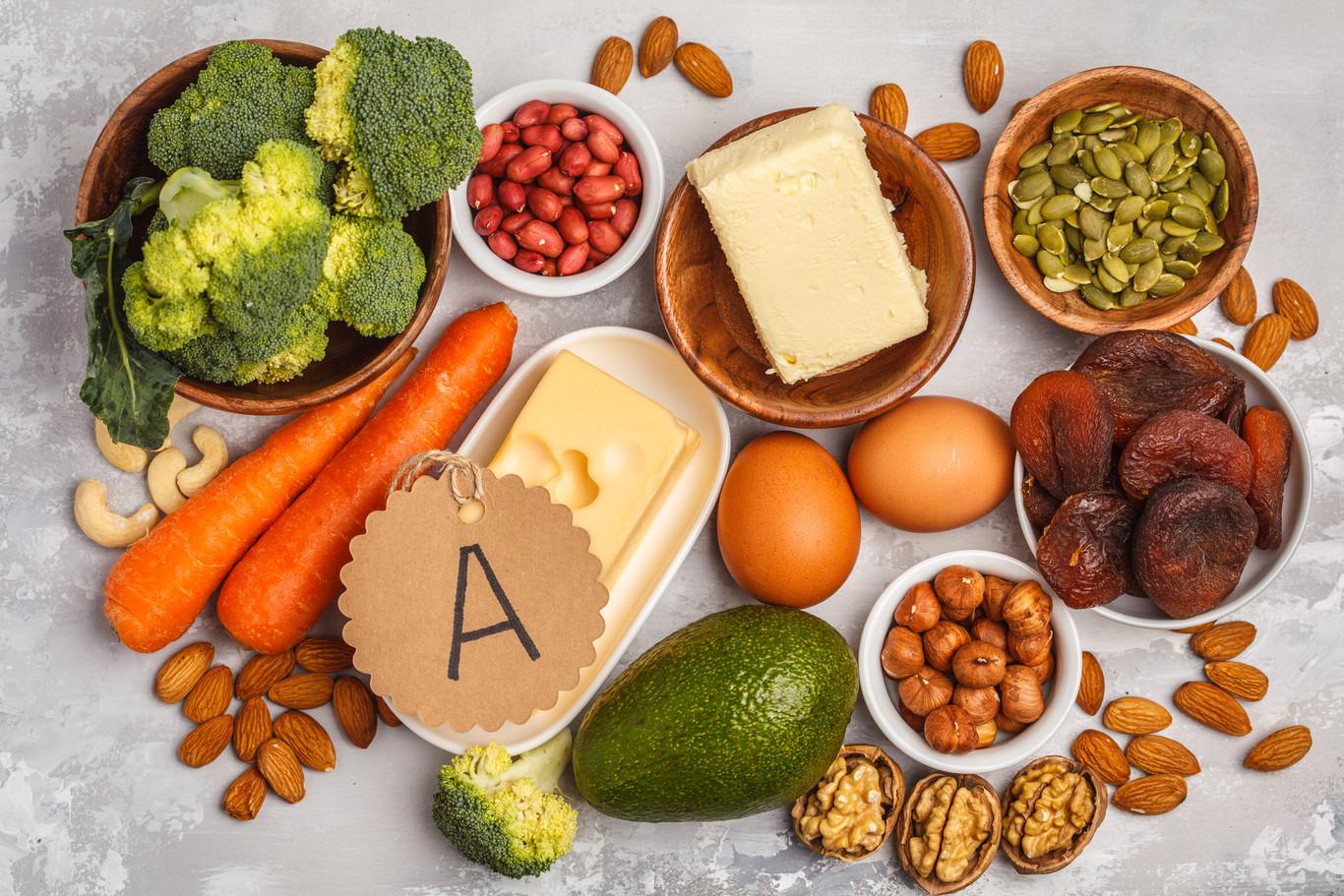 Vitamina A o retinol: estos son los alimentos que la contienen (y ...