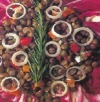 Ensalada de lentejas
