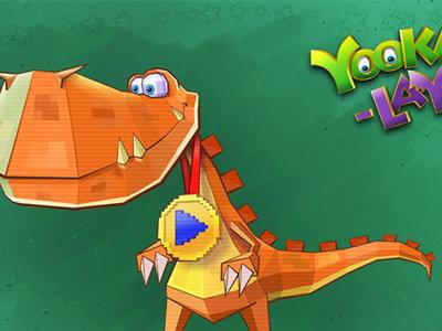 Yooka-Laylee presenta a Rextro, el guardián de las arcades